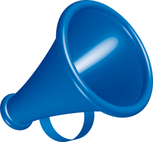 Megaphone for vocal presentation and vocal charisma